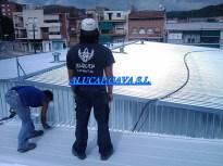 Cubierta piscina municipal de Gava