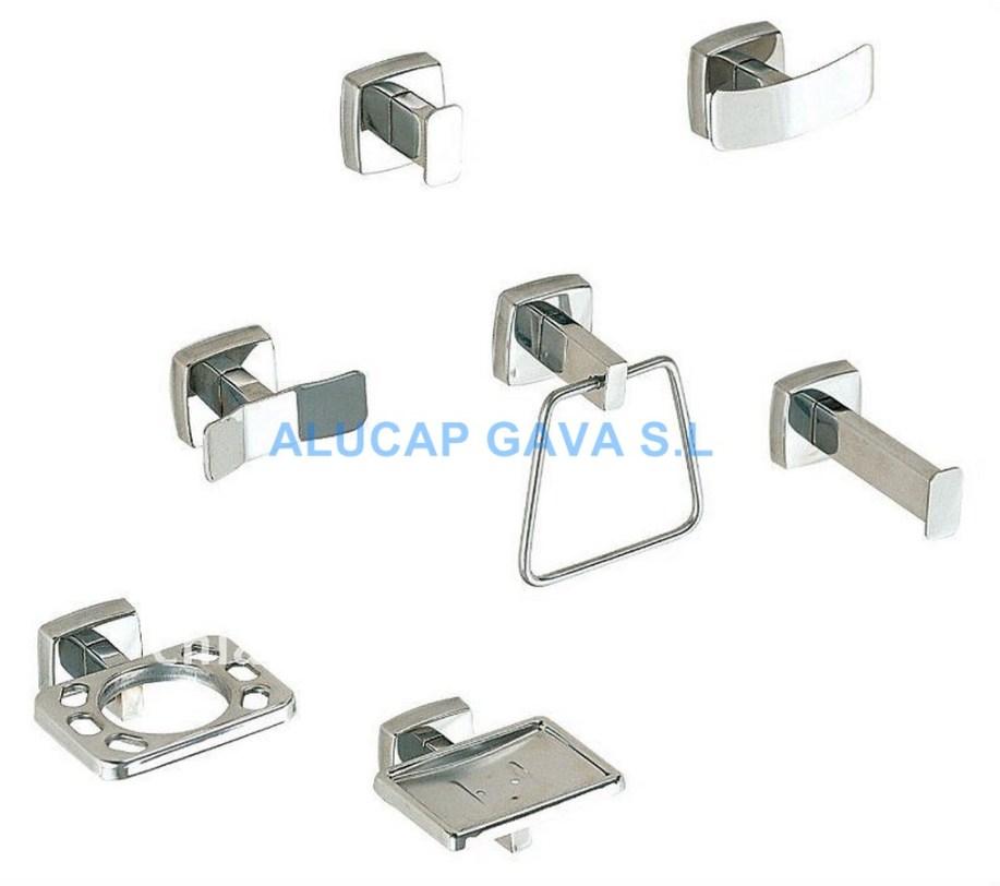 Bonito accesorios ba o acero inoxidable galer a de for Precios accesorios para banos acero inoxidable