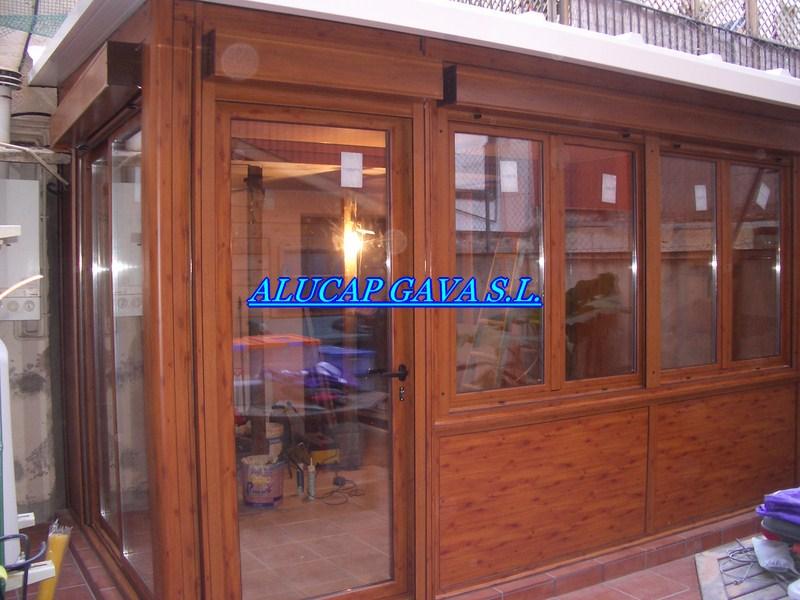 Empresa carpinter a de aluminio for Colores ventanas aluminio imitacion madera