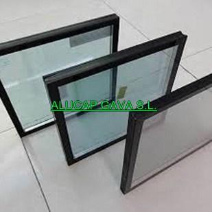 vidrio laminado templado doble