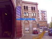 ventanas acabadas Plaza de toros obras