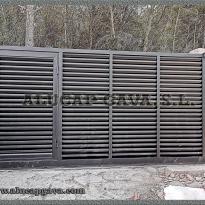 puertas metálicas correderas
